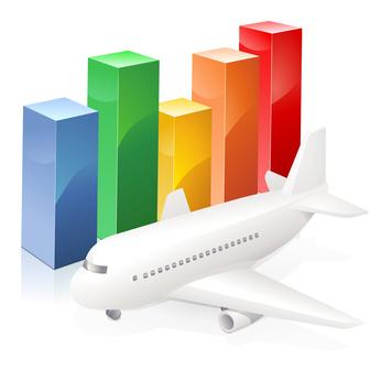 Baromètre SEO transport aérien